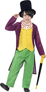 Smiffys Officially Licensed Roald Dahl Willy Wonka Costume