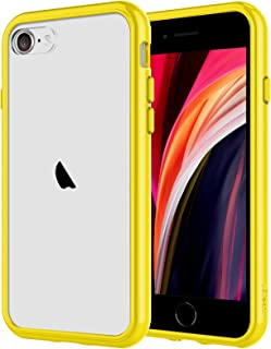 JETech Case for iPhone SE 2020 2nd Generation, iPhone 8 and iPhone 7, 4.7-Inch, Shockproof Bumper Cover, Anti-Scratch Clea...