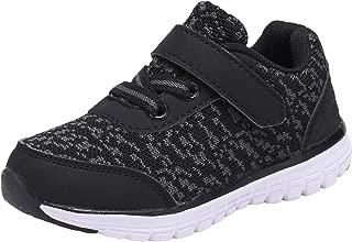 Toddler Hook&Loop Sneakers Little Kid's Boys and Girls Running Sport Shoes
