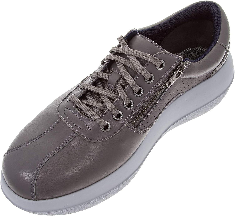 kybun Men's Köniz Grey Leather Footwear