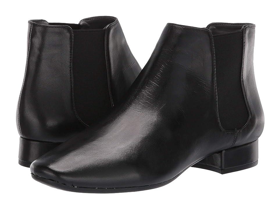 Aerosoles Skyway (Black Leather) Women