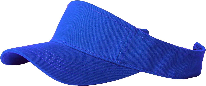 TOP HEADWEAR Solid Adjustable Sports Visor