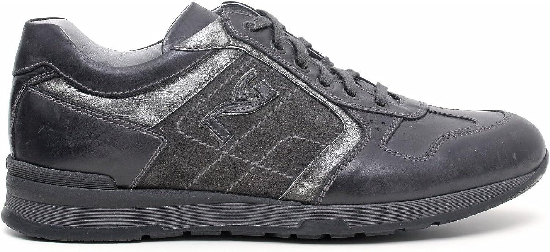 Nero Nero Nero Giardini Sneaker Herren Leder/Wildleder, Herbst/Winter a503640u-101 B01C3669JO  b07d75