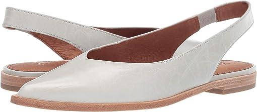 White Glazed Leather