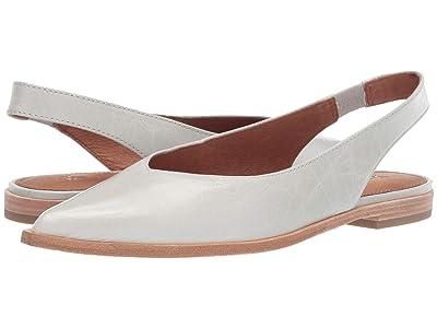 Frye Kenzie Slingback (White Glazed Leather) Women