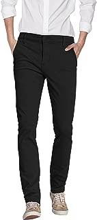 ETHANOL Mens Stretch Slim Performance Dry Wick Dress Pants