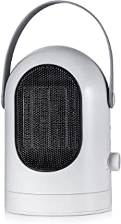 ANFAY Bajo Consumo Calentamiento Silencioso Ventilador Calefactor Mini Portátil Calefactor Ventilador Calefactor Termoventilador Rápido Calefactor Eléctrico, Protección Sobrecalentamiento