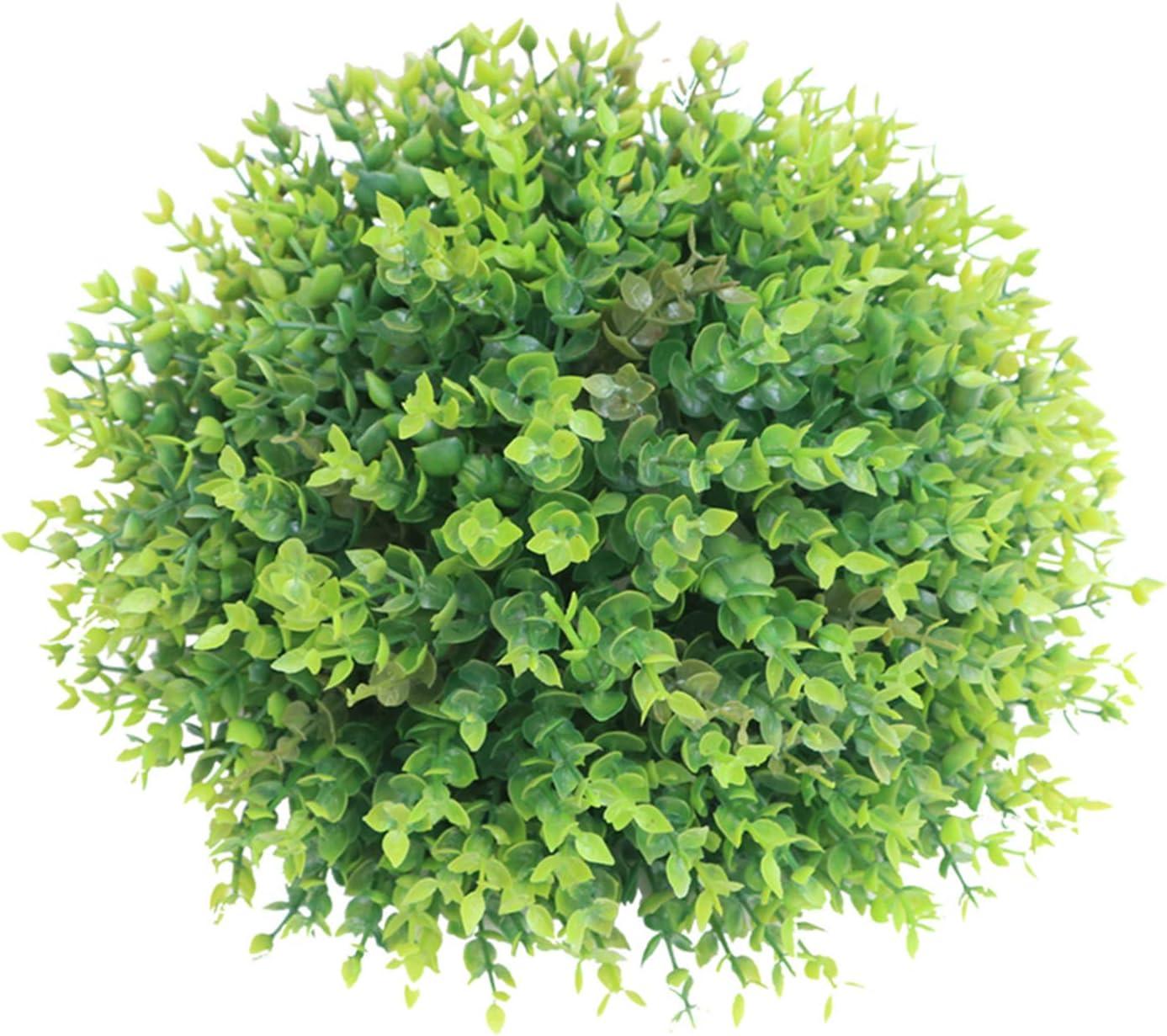 LAHappy Max 52% OFF Artificial Plants Grass Classic Ball Pine Anti-UV Needle