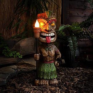 Hawaii Tiki Aloha Maske Wandbrett 50 cm Wandschild Deko Schild Bali Südsee 01
