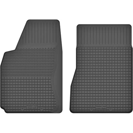 Ko Rubbermat 1 Stück Gummimatte Fußmatte Fahrer Geeignet Zur Toyota Corolla Verso Ii 2004 2009 Ideal Angepasst Auto
