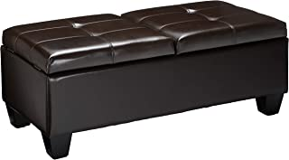 Best brown ottoman double bed Reviews