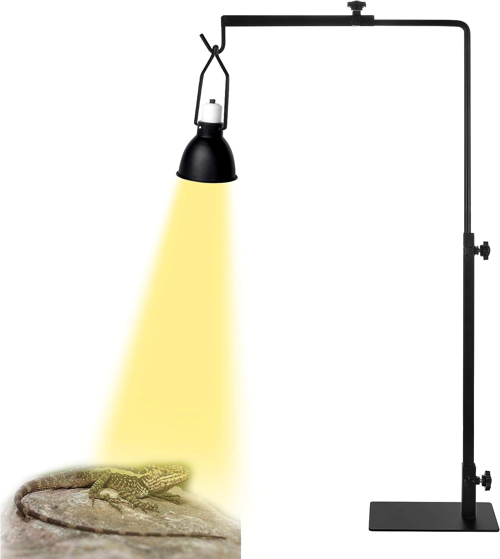 Washington Mall Altobooc Heavy Duty Limited price sale Adjustable Floor Heat for Reptile Lamp Stand