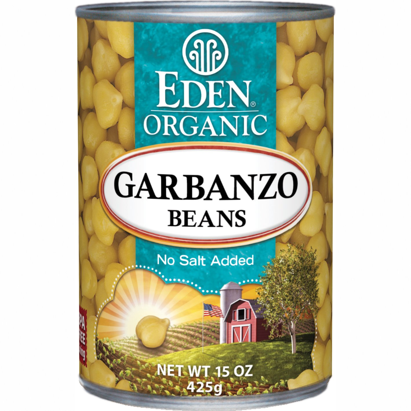 Eden Recommended 1 year warranty Foods Organic Garbanzo Beans oz 15