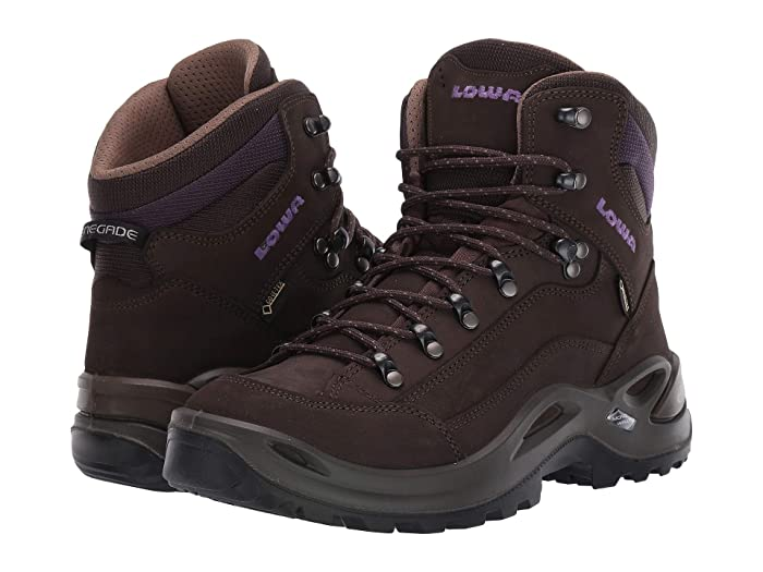 Lowa Renegade GTX Mid WS (Slate/Blackberry) Women's Hiking Boots