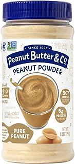 Peanut Butter & Co. Pure Peanut Powder, Non-GMO Project Verified, Gluten Free, Vegan, 6.5 oz Jar