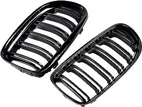 2pcs Glossy Black Kidney Double Line Grille Grill for BMW E90 E91 LCI 323i 325i 330i 335i