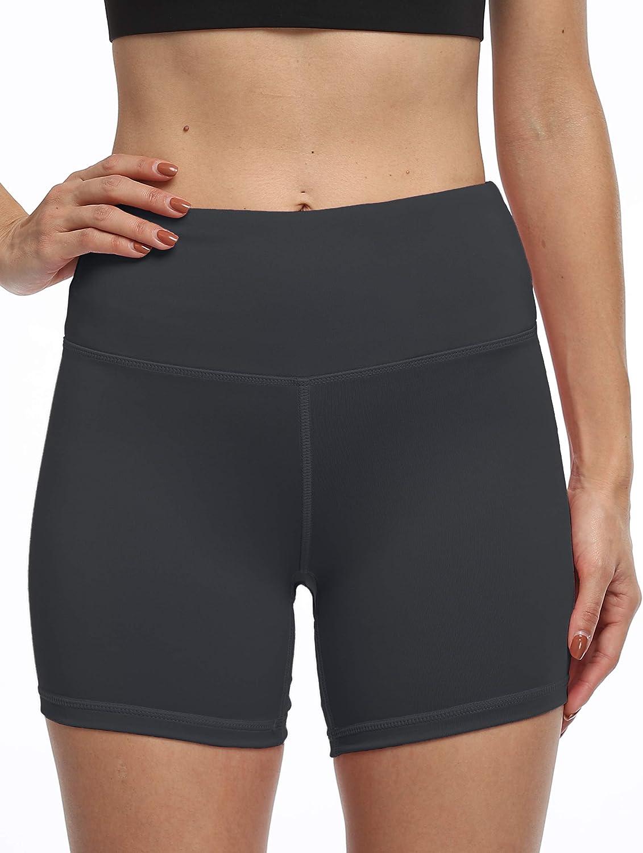 High Waist Tummy Control Tulsa Mall Brand new Workout Biker Shorts Yoga Running with