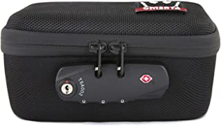 Omerta Soldier Case with Lock - Smell Proof Zippered Box w/Carbon Filter Lining