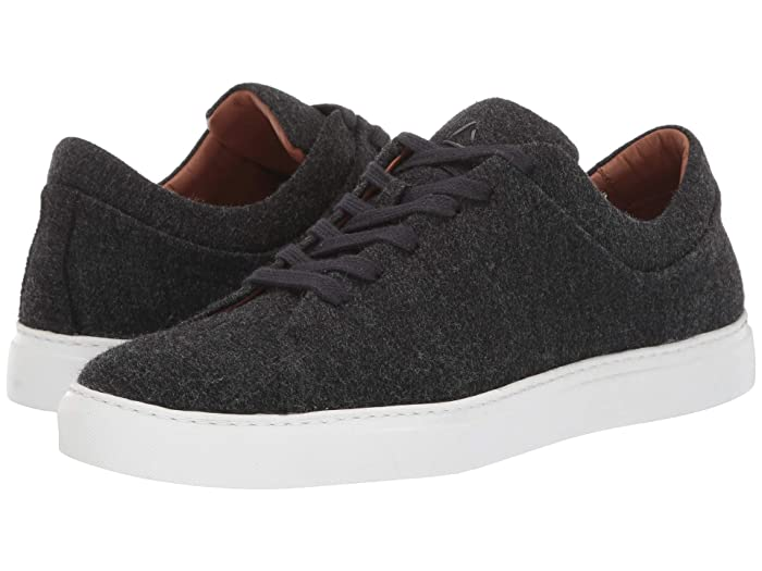 Aquatalia  Alaric (Black Soft Wool) Mens Lace up casual Shoes