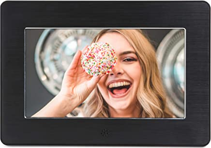 Micca 7-Inch Digital Photo Frame High Resolution Widescreen LCD, MP3 Music 1080P HD Video Playback, Auto On/Off Timer (Model: N7, Replaces M707z)