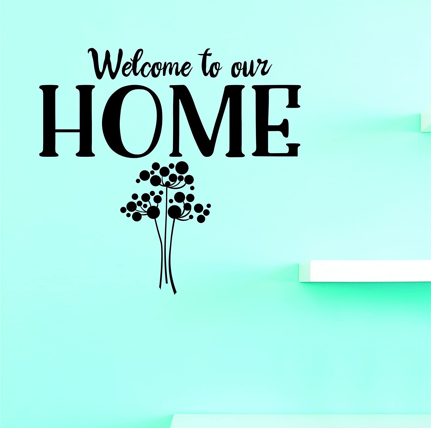 Design with Vinyl JER 2049 NEW 3A Hot Welcome To Decals quality assurance New Our Home