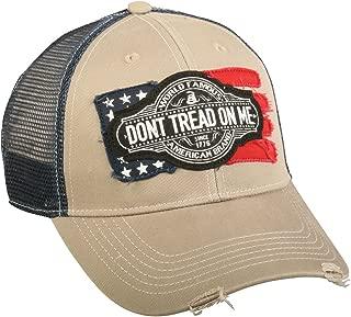 Don't Tread On Me Hat Vintage Flag Vintage Cap for Men & Women by DTOM