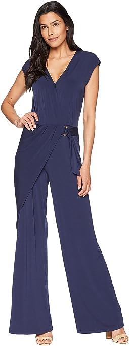 Wrap Front Jumpsuit