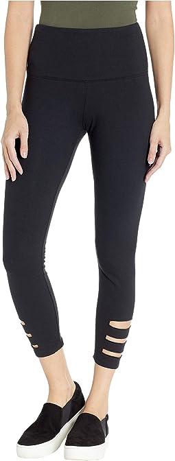 Slashed Side Leggings