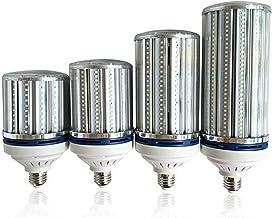 SGJFZD E27 / E40 LED Corn Light Bulb, 40W 50W 60W 80W LED Bulbs for Garage Warehouse Outdoor Street Area Lighting AC200-24...