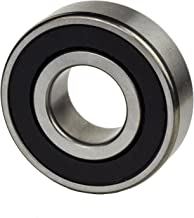 2-Pieces 6206 2RS, C3 Radial Ball Bearing 30x62x16mm, Rubber Sealed Deep Groove