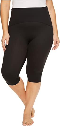 Plus Size Active Knee Pants