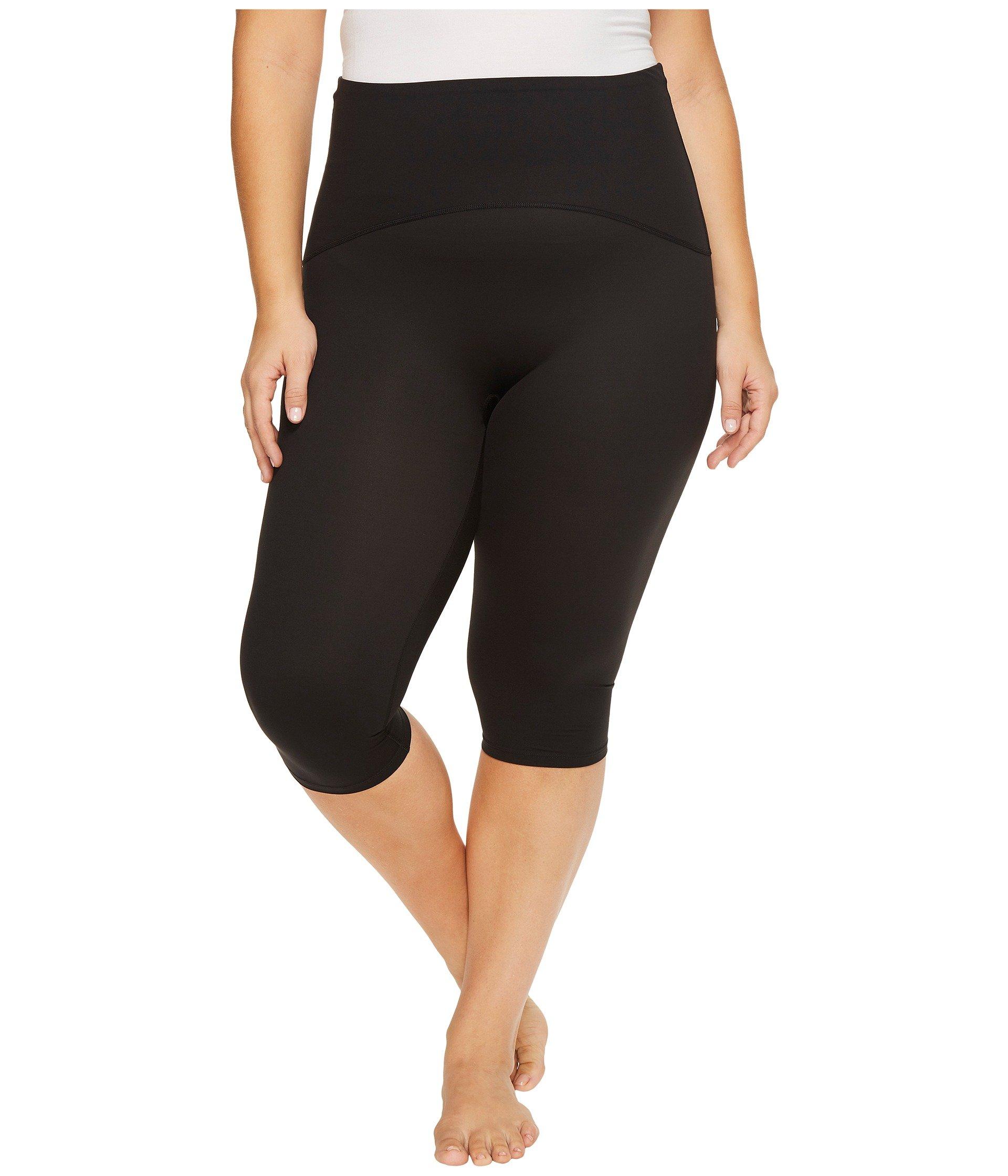 Knee Size Plus Pants Active Black Spanx Bxt1A