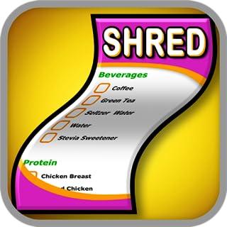 Shred Diet Shopping List