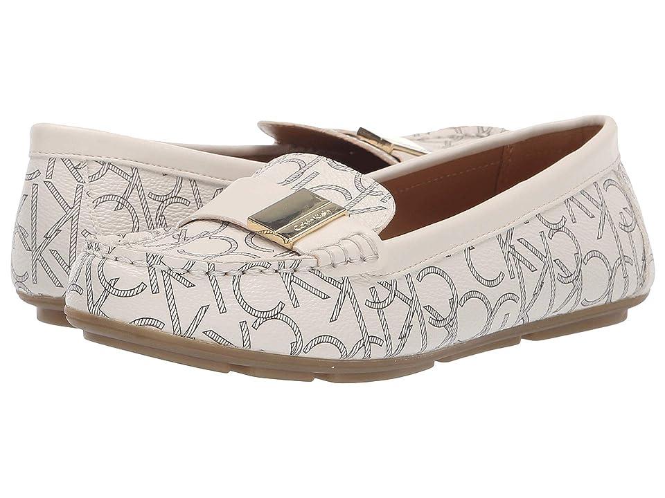 Calvin Klein Lisa (White) Women's Shoes