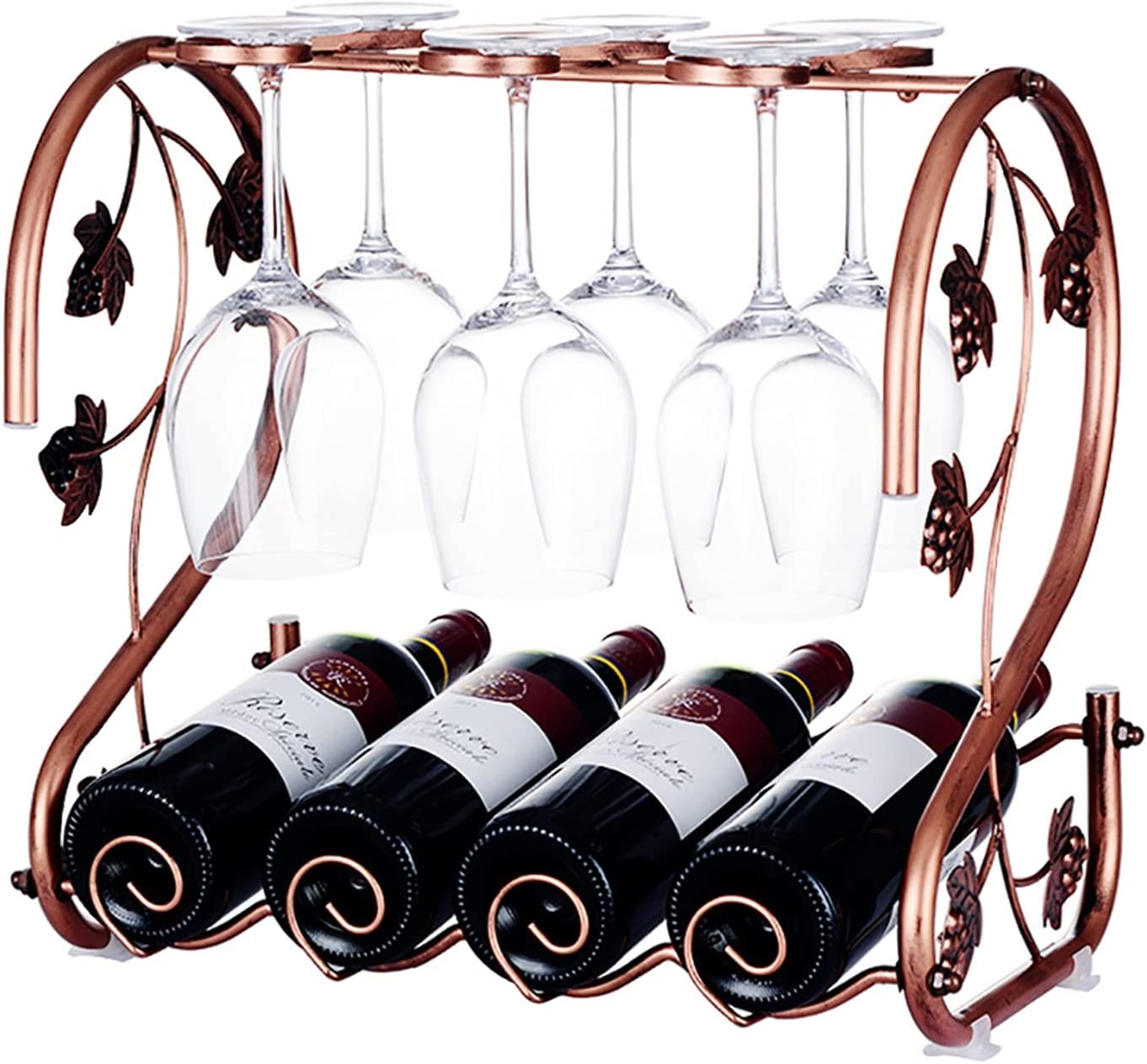 Lubinr Independent Wall Hanging Universal rac Cheap mail order sales Vintage Wine Financial sales sale Bronz