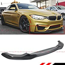 Fits for 2015-2019 BMW F80 M3 F82 F83 M4 PSM Style Carbon Fiber Front Bumper Lip Splitter Spoiler