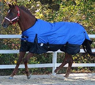 Chicks Saddlery Rugged Ride 600 Denier Waterproof Turnout Blanket - Black Skirt - 200 Gr Fill
