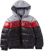 Nike Air Jordan Colorblock Stripe Big Boys' Puffer Jacket