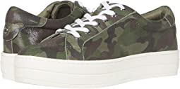 Green Camo Leather
