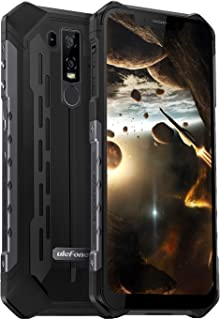 Ulefone Armor 6 SIMフリー スマートフォン IP68 IP69K 防水 防塵 耐衝撃 5000mAh大容量バッテリー Android 8.1 6.2インチ大画面 デュアルsim (nano)+ 1TFカードスロット 21MP+...