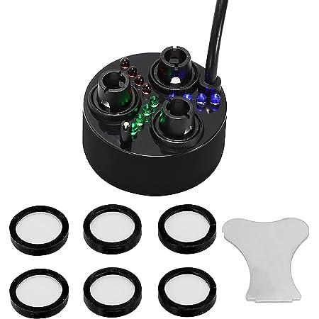 1X Ultrasonic Mist Maker D20mm Atomizing Fogger Ceramic Humidifier set Pro G9C5