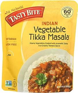 Tasty Bite Entree - Indian Cuisine - Vegetable Tikka Masala - 10 oz - case of 6 -