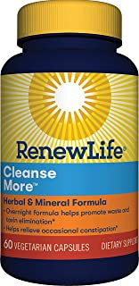 Renew Life Cleansemore Capsules, 100-Count Bottle