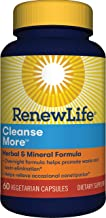 Renew Life Cleansemore Capsules, 60-Count Bottle