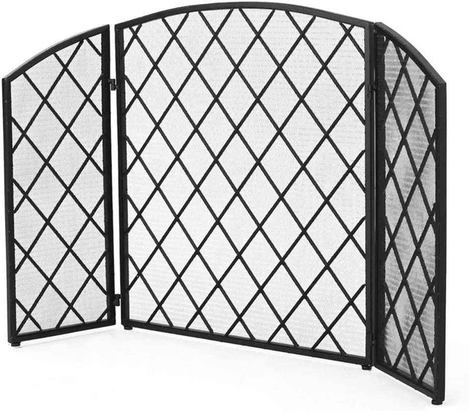 NYKK Fireplace Spark Guard European New Metal W Seattle Mall Screen Cheap mail order specialty store