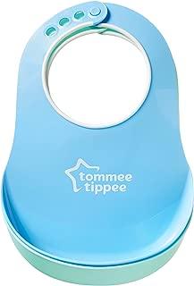 Tommee Tippee 必备颈部围嘴,2 只装(颜色随机)