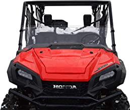 Honda Pioneer 1000/1000-5 Windshield - Half - SCRATCH RESISTANT - The ultimate in SxS versatility! Easy on and off. No tools needed!Premium poly w/Hard CoatMade in America!!