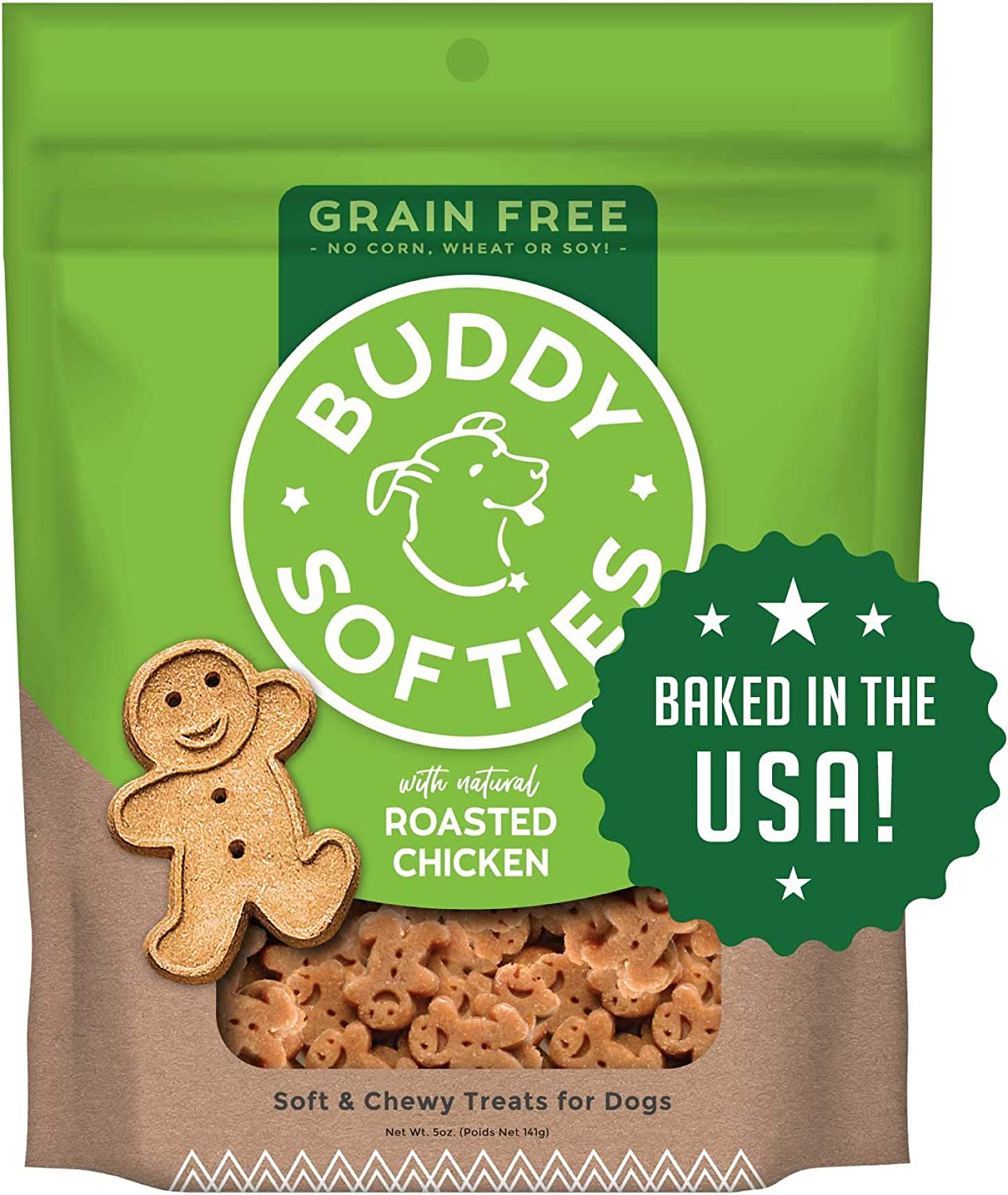 Buddy Biscuits Grain Free Dog Treats Max 56% OFF Only Made USA the in Limited price Heal