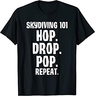 Skydiving 101 Skydiver and Free Falling T-Shirt