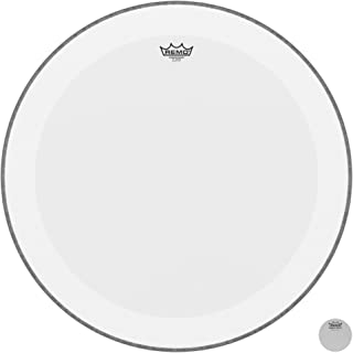 Remo P41126C2 26-Inch Coated Powerstroke 4 Bass Drumhead with Falam Patch